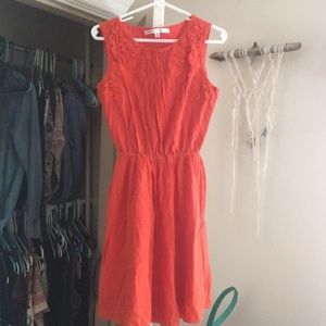 Burnt orange max studio dress